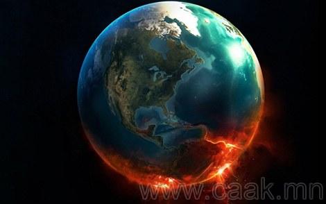 Дэлхий эргэхээ боливол юу болох вэ?