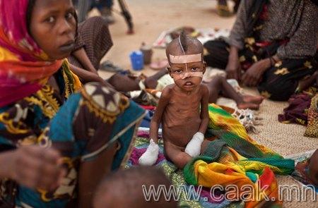 Африкийн Сахель дахь ган гачигаас үүдсэн хямрал