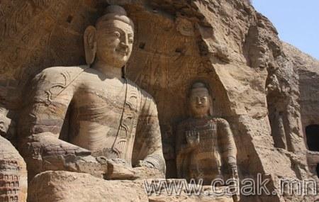 Буддын Юньган сүмийн түүх