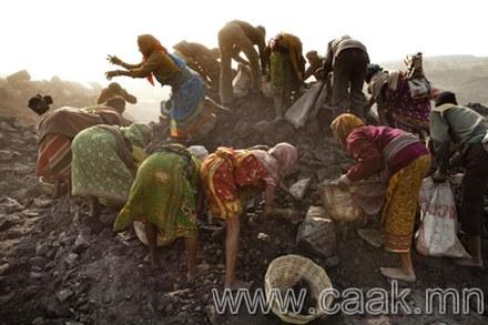 Тоос манарсан Жария буюу Энэтхэг дэхь нүүрсний хууль бус олборлолт