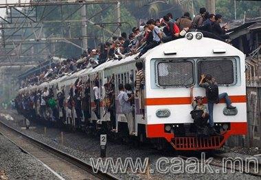 Индонез дэх галт тэрэгний туулайчлалын эсрэг хөдөлгөөн