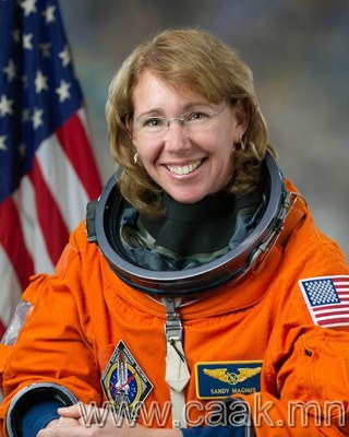Сансрын нисгэгч Сандра Магнусын интернэт дэхь тэмдэглэлээс...