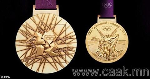 Олимпын алтан медальд хэр их алт ордог вэ?