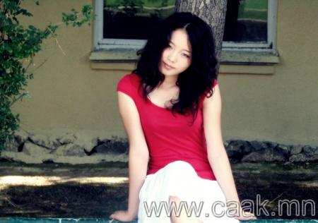 Монголын үзэсгэлэнт охид (100 фото) №122