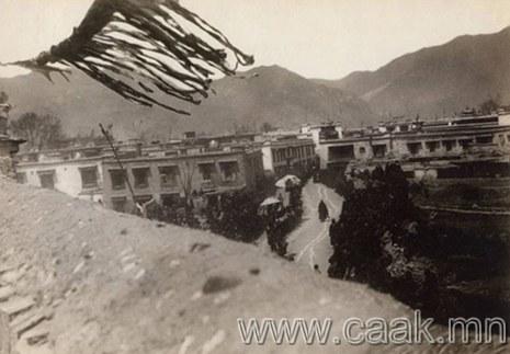 1900 оны Төвдийн хориотой зургууд